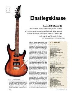 Gitarre & Bass Ibanez Ibanez GIO GSA60-BS, E-Gitarre