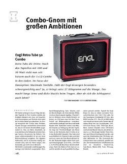 Gitarre & Bass Engl Retro 50 Combo, Tube-Amp