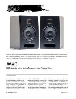 Sound & Recording Adam Audio F5 - Studiomonitore