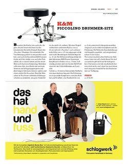 Sticks K&M Piccolino Drummersitz