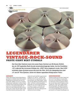 Sticks Paiste Giant Beat Cymbals