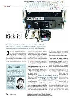 Soundcheck Test: Fischer Amps ButtKicker