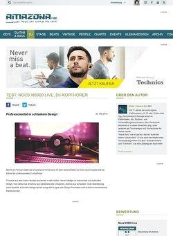 Amazona.de Test: Nocs NS900 Live, DJ-Kopfhörer