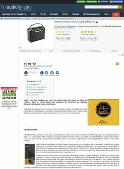 Audiofanzine.com Blackstar Amplification ID:Core Stereo 40