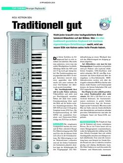 Tastenwelt Test: Ketron SD5 - Traditionell gut
