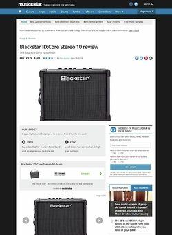 MusicRadar.com Blackstar ID:Core Stereo 10