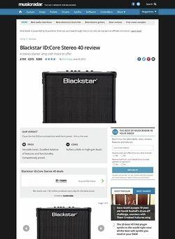 MusicRadar.com Blackstar ID:Core Stereo 40