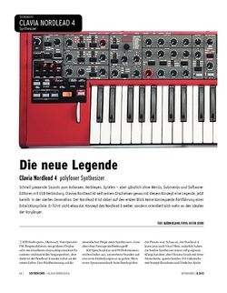 Keyboards Clavia Nordlead 4 - polyfoner Synthesizer