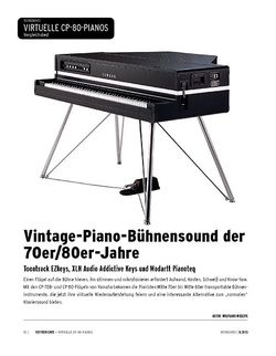 Keyboards Electric Grandpianos im Vergleich - Toontrack EZkeys, XLN Audio Addictive Keys, Modartt Pianoteq