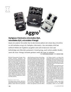 Gitarre & Bass Darkglass Electronics microtubes B3K, microtubes B7K, microtubes Vintage, Bass-Verzerrer