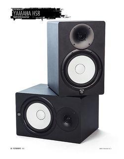 "Sound & Recording Yamaha HS8 - Aktiver 8""-Nahfeld-Studiomonitor"