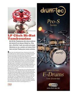 Sticks LP Click Hi-Hat Tambourine