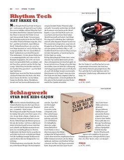 Sticks Schlagwerk Star Box Kids Cajon