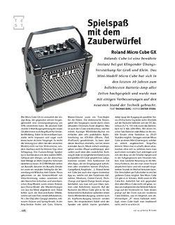 Gitarre & Bass Roland Micro Cube GX, Mini-Combo