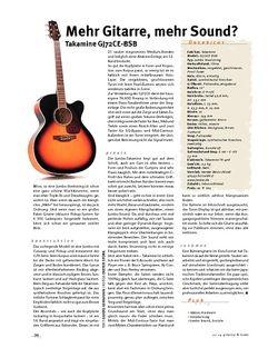 Gitarre & Bass Takamine GJ72CE-BSB, Jumbo-A-Gitarre