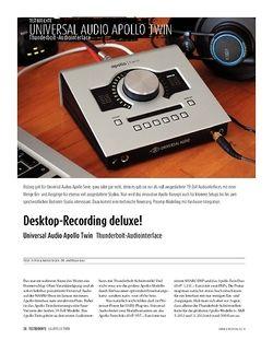 Sound & Recording Universal Audio Apollo Twin - Thunderbolt-Audiointerface