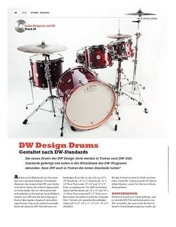 Sticks DW Design Drums