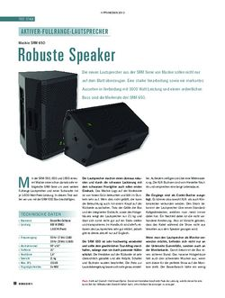 Soundcheck Mackie SRM650