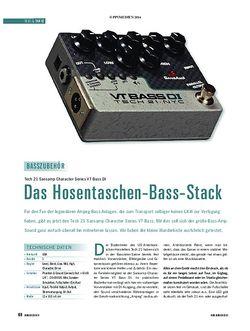 Soundcheck Tech 21 VT Bass DI