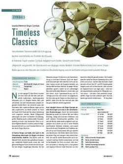 Soundcheck Istanbul Mehmet Origin Cymbals