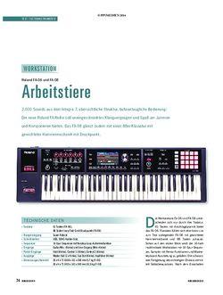 Soundcheck Roland FA-06 und FA-08