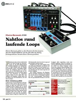 Guitar Electro-Harmonix 45000
