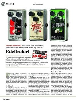 Guitar Electro-Harmonix Soul Food, East River Drive, Hot Tubes Nano, OD Glove & Nano Big Muff Pi