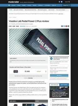 MusicRadar.com Voodoo Lab Pedal Power 2 Plus