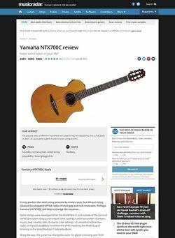 MusicRadar.com Yamaha NTX700C