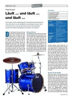 Drumheads Pearl Export Drumset