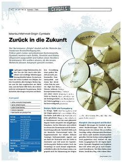 Drumheads Istanbul Mehmet Origin Cymbals