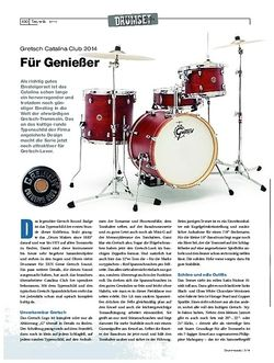 Drumheads Gretsch Catalina Club 2014