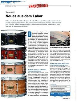 Drumheads Tama S.L.P. Snaredrums