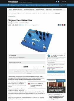 MusicRadar.com Strymon Mobius