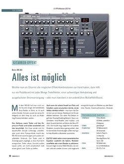 Soundcheck Boss ME-80