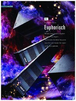 Soundcheck Nova Euphoria-System