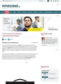 Amazona.de Test: Bugera G5 Infinium, Gitarrenverstärker