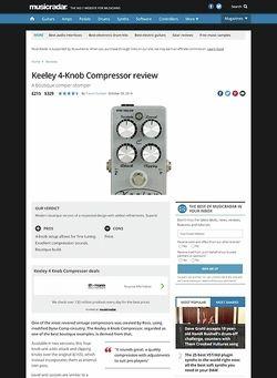 MusicRadar.com Keeley C4