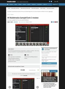 MusicRadar.com IK Multimedia SampleTank 3
