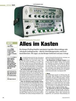 Tastenwelt Kemper Profiling Amplifier
