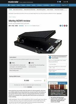 MusicRadar.com Morley M2WV