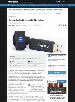 MusicRadar.com Source Audio Hot Hand USB