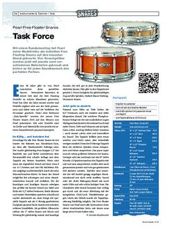 Drumheads Pearl Free Floating Snares