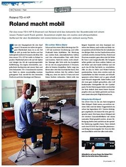Drumheads Roland TD-4 KP