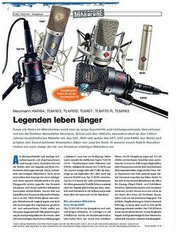 Drumheads Neumann KM184, TLM103, TLM102, TLM67, TLM170 R, TLM193