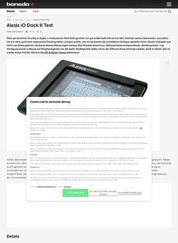 Bonedo.de Alesis iO Dock II