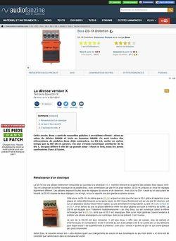 Audiofanzine.com Boss DS-1X