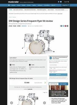 MusicRadar.com DW Design Series Frequent Flyer Kit