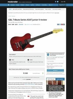 MusicRadar.com G&L ASAT Junior II