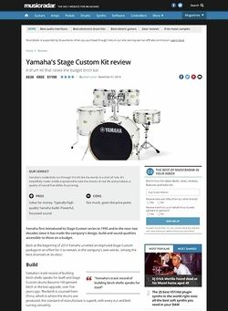 MusicRadar.com Yamaha's Stage Custom Kit
